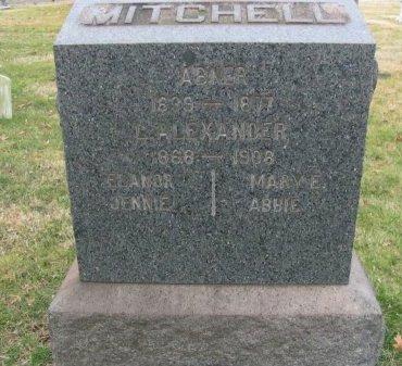 MITCHELL, ABNER - Mercer County, New Jersey | ABNER MITCHELL - New Jersey Gravestone Photos