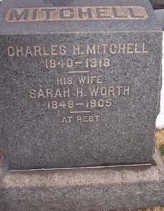 MITCHELL, CHARLES H. - Mercer County, New Jersey | CHARLES H. MITCHELL - New Jersey Gravestone Photos