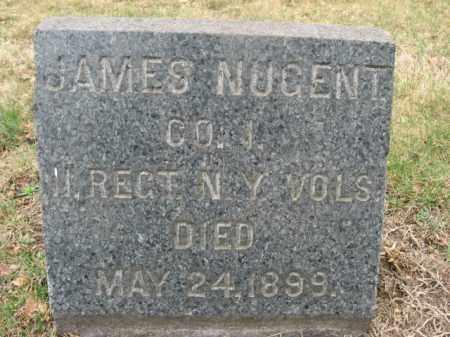 NUGENT, JAMES - Mercer County, New Jersey | JAMES NUGENT - New Jersey Gravestone Photos