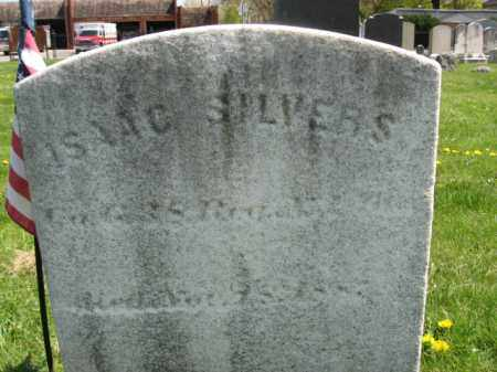 SILVERS, ISAAC - Mercer County, New Jersey | ISAAC SILVERS - New Jersey Gravestone Photos