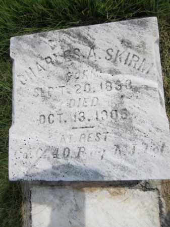 SKIRM, CHARLES A. - Mercer County, New Jersey | CHARLES A. SKIRM - New Jersey Gravestone Photos