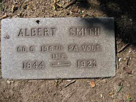 SMITH, ALBERT - Mercer County, New Jersey   ALBERT SMITH - New Jersey Gravestone Photos