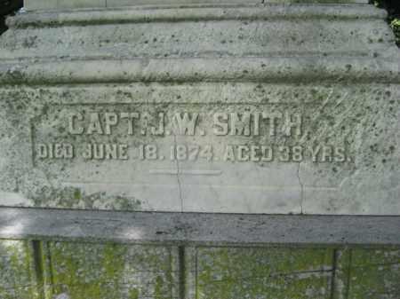 SMITH, CAPT.J.W. - Mercer County, New Jersey | CAPT.J.W. SMITH - New Jersey Gravestone Photos