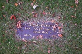 SMITH, THOMAS - Mercer County, New Jersey | THOMAS SMITH - New Jersey Gravestone Photos