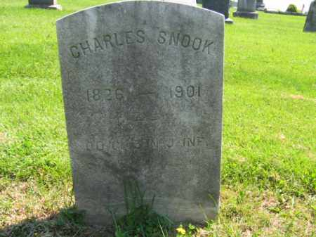 SNOOK, CHARLES - Mercer County, New Jersey | CHARLES SNOOK - New Jersey Gravestone Photos