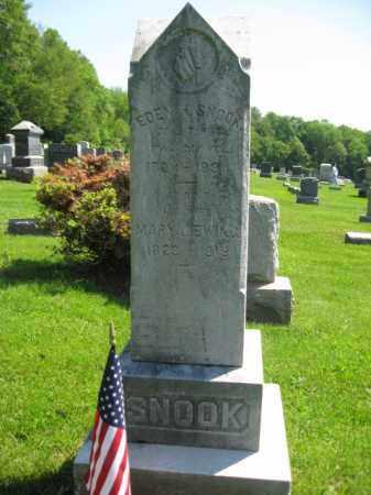 SNOOK, EDEN H. - Mercer County, New Jersey | EDEN H. SNOOK - New Jersey Gravestone Photos