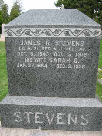 STEVENS, JAMES R. - Mercer County, New Jersey   JAMES R. STEVENS - New Jersey Gravestone Photos