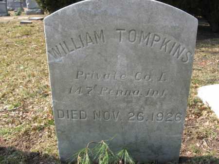 TOMPKINS, WILLIAM - Mercer County, New Jersey | WILLIAM TOMPKINS - New Jersey Gravestone Photos