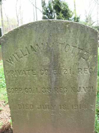 TOTTEN, WILLIAM - Mercer County, New Jersey | WILLIAM TOTTEN - New Jersey Gravestone Photos
