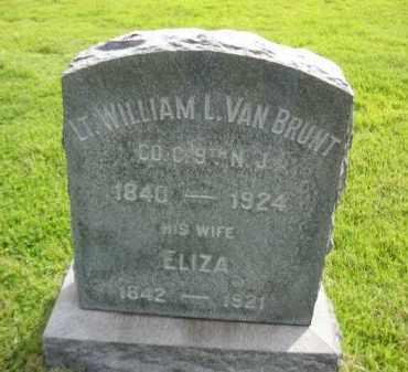 VAN BRUNT, WILLIAM L. - Mercer County, New Jersey | WILLIAM L. VAN BRUNT - New Jersey Gravestone Photos