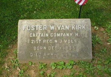 VAN KIRK, FOSTER W. - Mercer County, New Jersey   FOSTER W. VAN KIRK - New Jersey Gravestone Photos