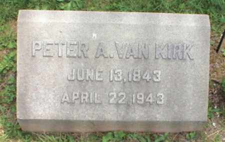 VAN KIRK, PETER A. - Mercer County, New Jersey | PETER A. VAN KIRK - New Jersey Gravestone Photos
