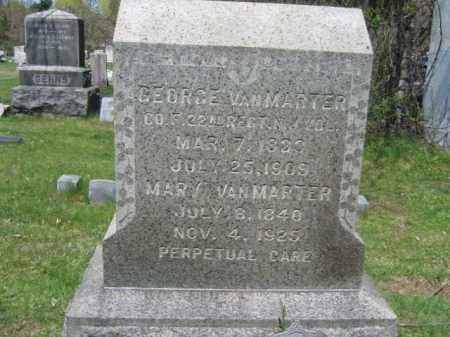 VANMARTER, GEORGE - Mercer County, New Jersey | GEORGE VANMARTER - New Jersey Gravestone Photos