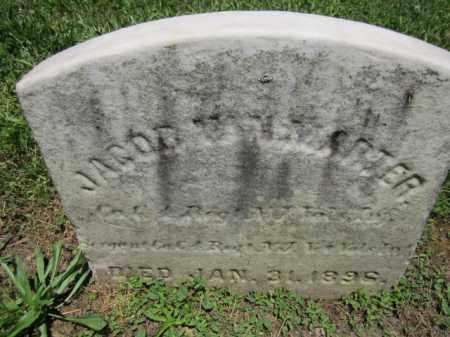 VANMARTER, JACOB - Mercer County, New Jersey | JACOB VANMARTER - New Jersey Gravestone Photos