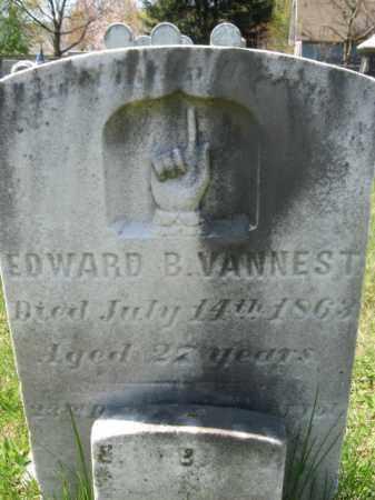 VANNEST, EDWARD B. - Mercer County, New Jersey | EDWARD B. VANNEST - New Jersey Gravestone Photos