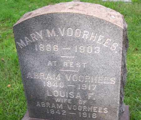VOORHEES, ABRAM - Mercer County, New Jersey | ABRAM VOORHEES - New Jersey Gravestone Photos