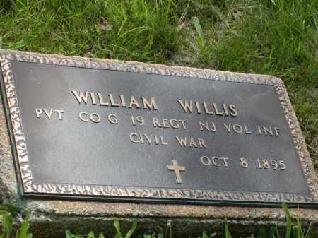 WILLIS, WILLIAM - Mercer County, New Jersey | WILLIAM WILLIS - New Jersey Gravestone Photos