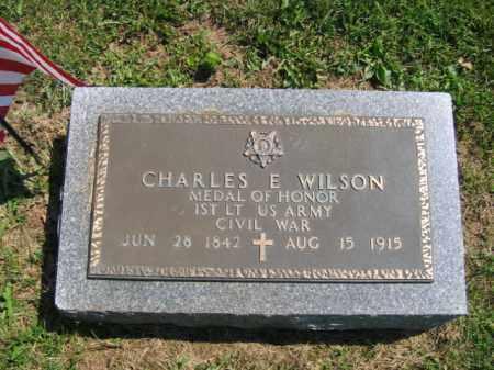WILSON (CMOH), 1ST LIEUT CHARLES E. - Mercer County, New Jersey | 1ST LIEUT CHARLES E. WILSON (CMOH) - New Jersey Gravestone Photos