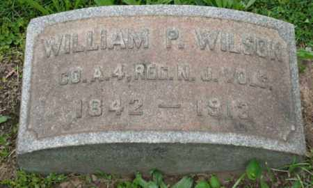 WILSON, WILLIAM P. - Mercer County, New Jersey | WILLIAM P. WILSON - New Jersey Gravestone Photos