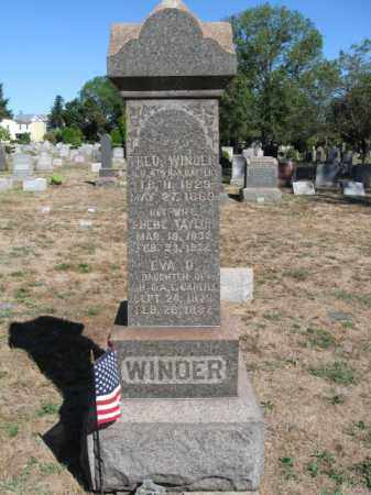 WINDER, THEODORE - Mercer County, New Jersey | THEODORE WINDER - New Jersey Gravestone Photos