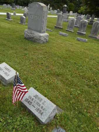 WISNER, JOHN C. - Mercer County, New Jersey | JOHN C. WISNER - New Jersey Gravestone Photos
