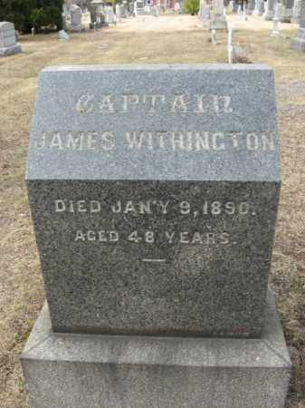 WITHINGTON, CAPT.JAMES - Mercer County, New Jersey | CAPT.JAMES WITHINGTON - New Jersey Gravestone Photos