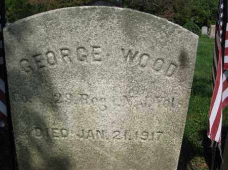 WOOD, GEORGE - Mercer County, New Jersey | GEORGE WOOD - New Jersey Gravestone Photos