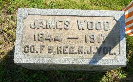 WOOD, JAMES - Mercer County, New Jersey | JAMES WOOD - New Jersey Gravestone Photos