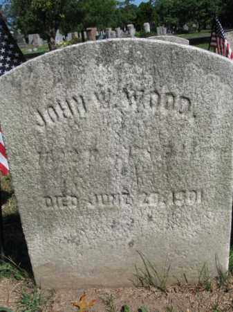 WOOD, JOHN W. - Mercer County, New Jersey | JOHN W. WOOD - New Jersey Gravestone Photos