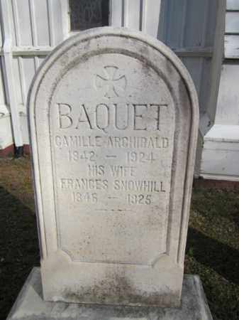 BAQUET, CAMILLE A. - Middlesex County, New Jersey | CAMILLE A. BAQUET - New Jersey Gravestone Photos