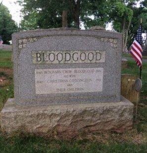 BLOODGOOD, BENJAMIN CROW - Middlesex County, New Jersey   BENJAMIN CROW BLOODGOOD - New Jersey Gravestone Photos