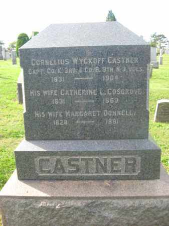 CASTNER, CAPT.CORNELIUS WYCKOFF - Middlesex County, New Jersey   CAPT.CORNELIUS WYCKOFF CASTNER - New Jersey Gravestone Photos
