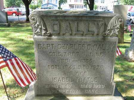 DALLY, CAPT.CHARLES C. - Middlesex County, New Jersey | CAPT.CHARLES C. DALLY - New Jersey Gravestone Photos