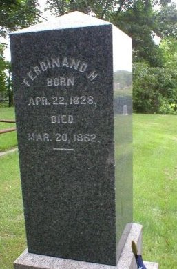 DISBROW (CENOTAPH), FERDINAND H. - Middlesex County, New Jersey | FERDINAND H. DISBROW (CENOTAPH) - New Jersey Gravestone Photos