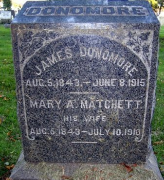 DONOMORE, JAMES - Middlesex County, New Jersey | JAMES DONOMORE - New Jersey Gravestone Photos