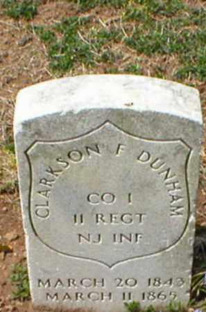 DUNHAM, CLARKSON F. - Middlesex County, New Jersey   CLARKSON F. DUNHAM - New Jersey Gravestone Photos