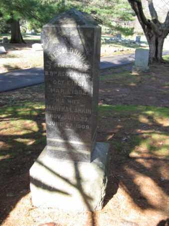 DUNHAM, JAMES M. - Middlesex County, New Jersey | JAMES M. DUNHAM - New Jersey Gravestone Photos