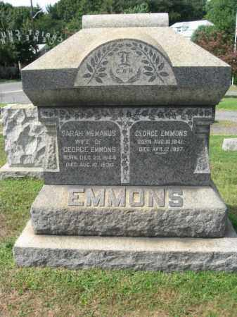 EMMONS, GEORGE - Middlesex County, New Jersey | GEORGE EMMONS - New Jersey Gravestone Photos
