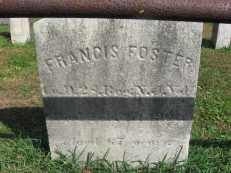 FOSTER, FRANCIS - Middlesex County, New Jersey | FRANCIS FOSTER - New Jersey Gravestone Photos