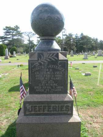 JEFFERIES, JOSEPH C. - Middlesex County, New Jersey | JOSEPH C. JEFFERIES - New Jersey Gravestone Photos