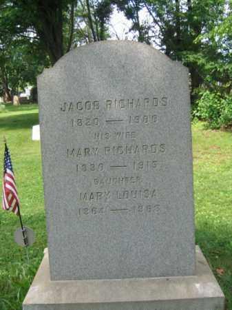 RICHARDS, JACOB - Middlesex County, New Jersey   JACOB RICHARDS - New Jersey Gravestone Photos