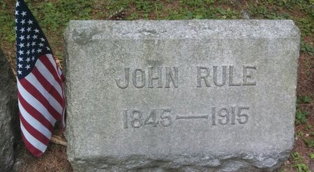 RULE AKA RUH, JOHN - Middlesex County, New Jersey   JOHN RULE AKA RUH - New Jersey Gravestone Photos