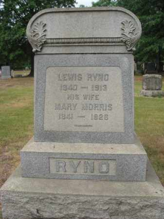 RYNO, LEWIS - Middlesex County, New Jersey | LEWIS RYNO - New Jersey Gravestone Photos