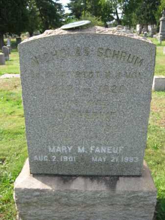 SCHRUM, NICHOLAS - Middlesex County, New Jersey   NICHOLAS SCHRUM - New Jersey Gravestone Photos