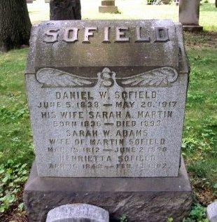 SOFIELD (SOFFIELD), DANIEL W. - Middlesex County, New Jersey | DANIEL W. SOFIELD (SOFFIELD) - New Jersey Gravestone Photos