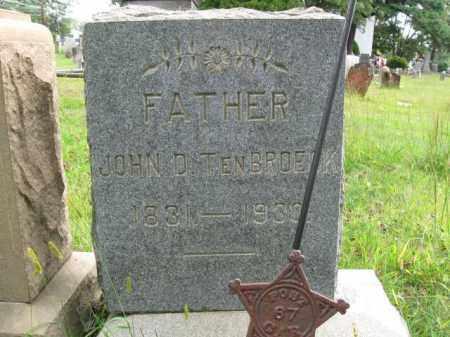 TENBROECK, PVT.JOHN D. - Middlesex County, New Jersey | PVT.JOHN D. TENBROECK - New Jersey Gravestone Photos
