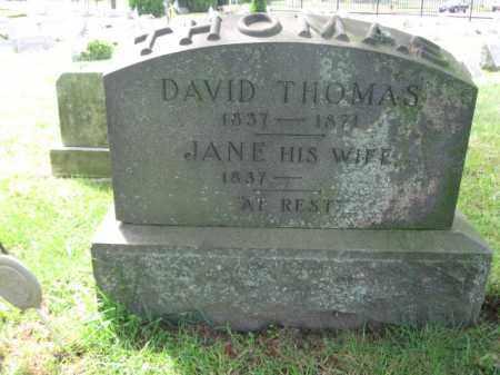 THOMAS, DAVID - Middlesex County, New Jersey | DAVID THOMAS - New Jersey Gravestone Photos