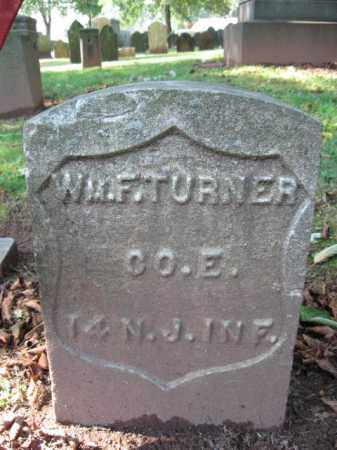TURNER, WILLIAM F. - Middlesex County, New Jersey | WILLIAM F. TURNER - New Jersey Gravestone Photos
