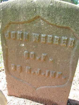 WEBBER, JOHN - Middlesex County, New Jersey | JOHN WEBBER - New Jersey Gravestone Photos