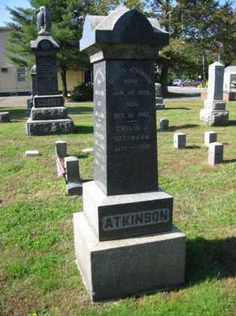 ATKINSON, ROBERT - Middlesex County, New Jersey | ROBERT ATKINSON - New Jersey Gravestone Photos